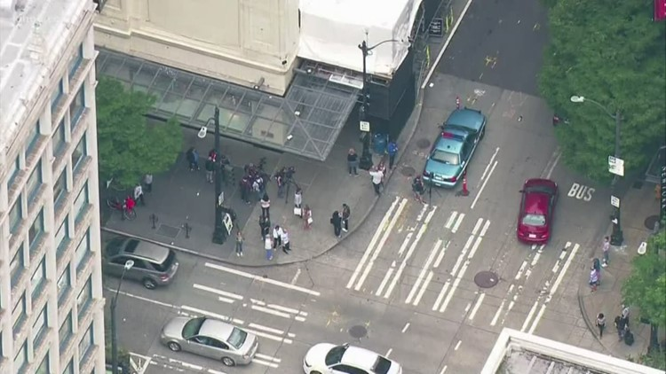 Man sentenced to 25 years in prison for random downtown Seattle stabbings