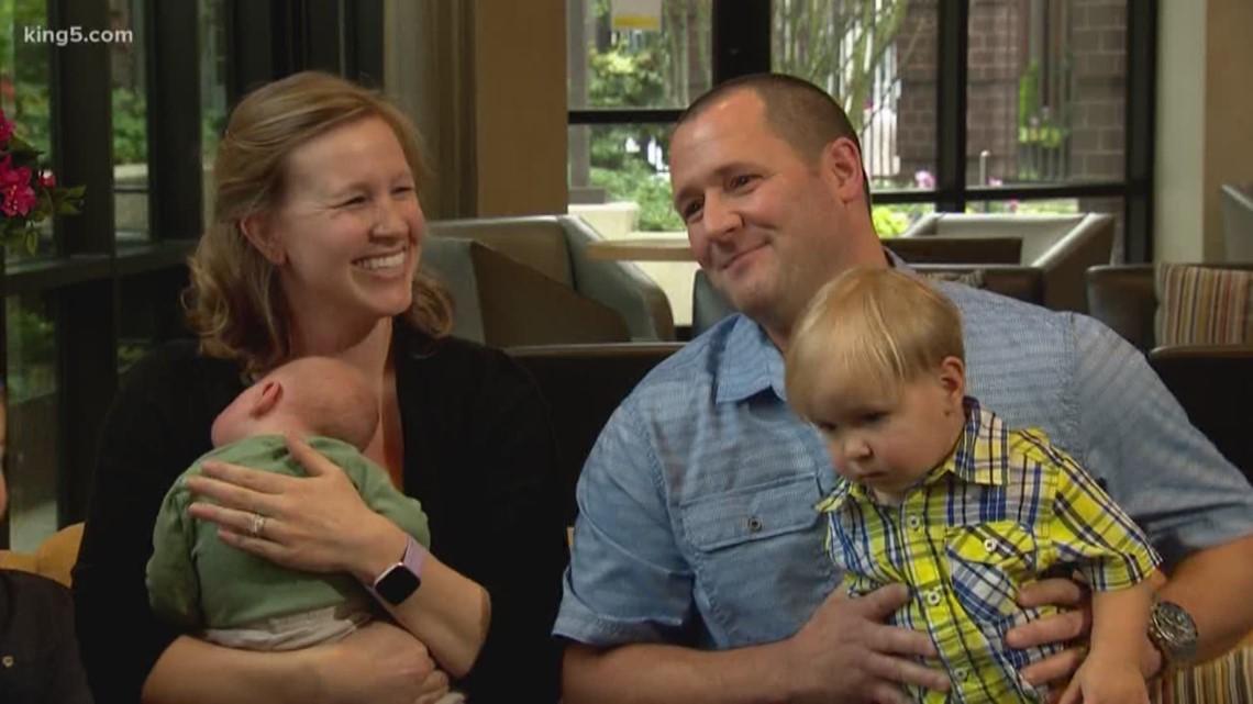 Washington couple finds love in the sky above Spokane