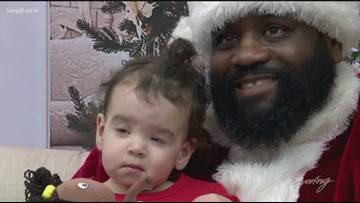 Santa brings smiles to the Northwest African American Museum - KING 5 Evening