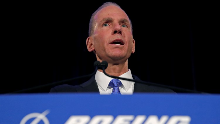 Boeing CEO no longer board chairman in wake of 737 MAX crashes