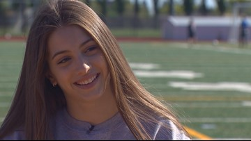 Prep Zone: West Seattle's Chloe Cunliffe soars to new heights