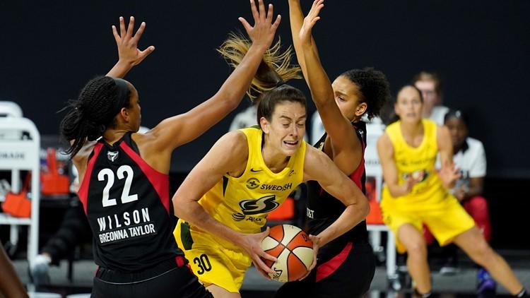 Aces sit atop AP preseason WNBA power poll, Storm second