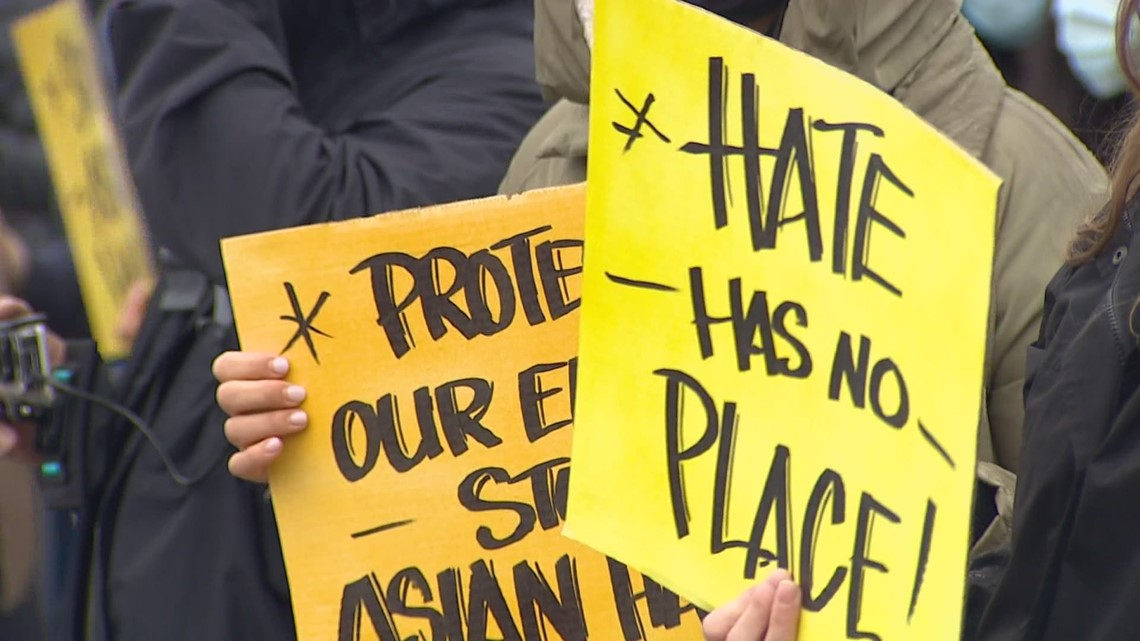 www.king5.com: Rallies in King County call attention to attacks on Asian Americans during pandemic
