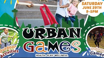 Urban Games helps combat childhood obesity and promote healthy choices