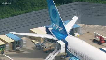 Boeing prepares for 777X test flight