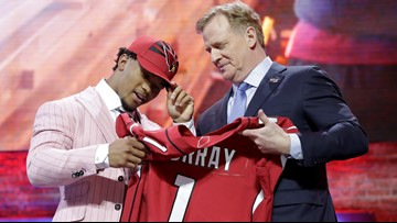 Murray taken 1st in NFL draft, followed by Bosa and Williams