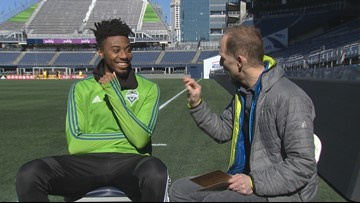 Welcome to Sounders FC Defender Saad Abdul-Salaam