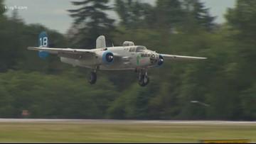 Tour vintage warplane bombers in Skagit County this week