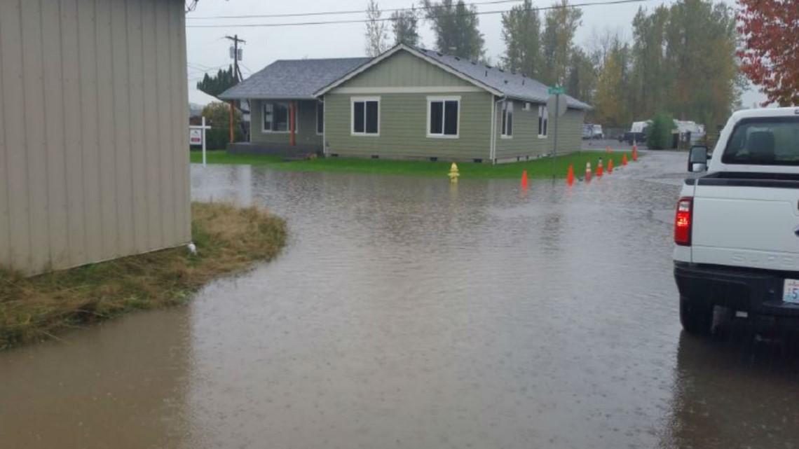 Flooding in Enumclaw