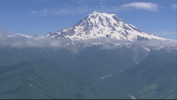 Quake swarms helping scientists map faults under Mount Rainier