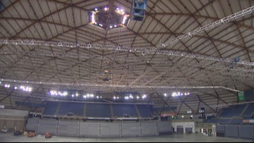 Tacoma Dome opens for first major concert since it was renovated