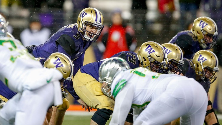 Control of the Pac-12 North race is at stake in the first visit by the Huskies to Autzen Stadium since their stunning 70-21 pummeling of the Ducks two years ago.