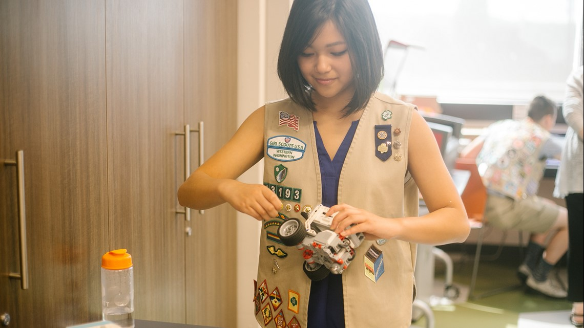 More than just cookies, the Girl Scouts are closing the STEM gap