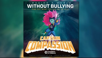 New anti-bullying superhero teaches compassion and empathy