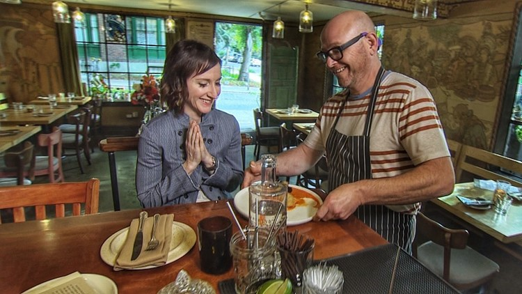 Food Writer Julien Perry picks her fav food places - Where the Chefs Eat
