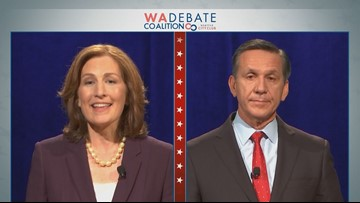 Kim Schrier, Dino Rossi clash on economy, health care in Congressional debate