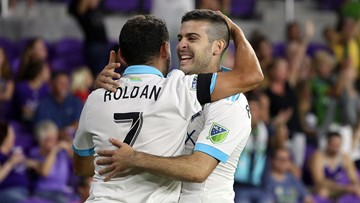 Rodriguez, Sounders beat Orlando City, clinch playoff berth