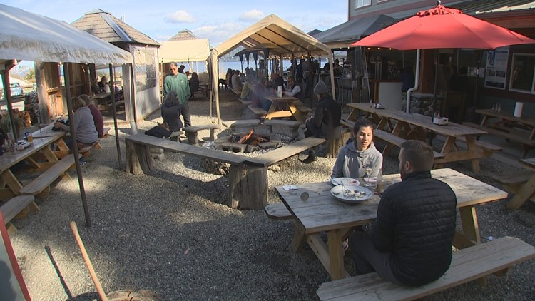 Oyster Saloon Outdoor Area