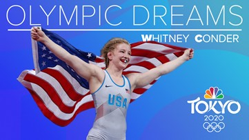 Wrestler from Puyallup on a mission to compete at the Olympics