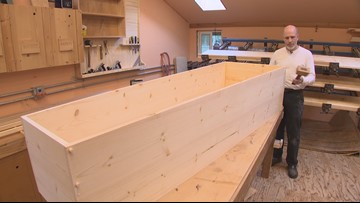 Vashon coffin maker Marian Caskets isn't spooky at all