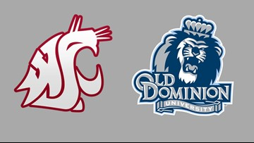 Elleby, Cannon spark Washington State past Old Dominion 66-50