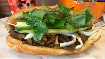 Find delicious $5 banh mi in West Seattle