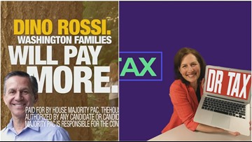 Fact check: 8th District ads target Schrier on taxes, Rossi on health care