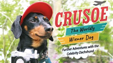 Crusoe the Celebrity Dachshund comes out with new book