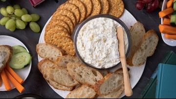 Turn delicious dips into sweet and savory appetizers for the holidays