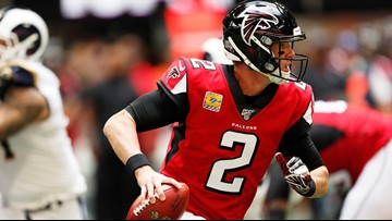 Falcons' Matt Ryan won't play against Seahawks, Schaub to fill in