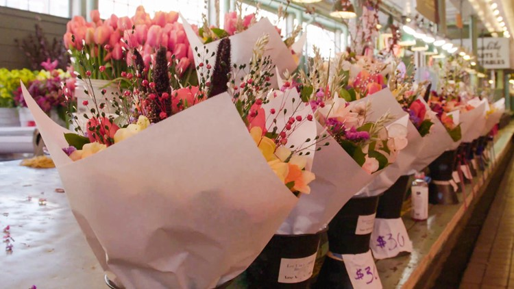 Spring blooms are here! Here are a few you'll find at Pike Place Market - New Day NW