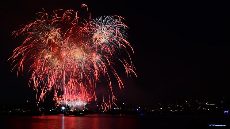 List: Fourth of July fireworks shows across Puget Sound region