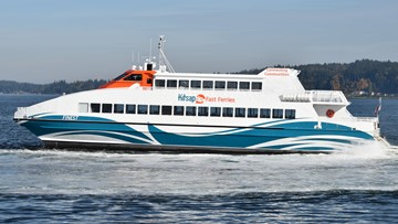 Kitsap Transit's newest foot ferry was part of historical rescue effort