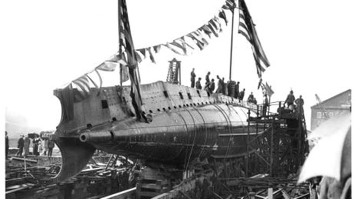 Bremerton shipyard's history with submarines traces back to WWI