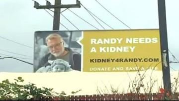 Roadside billboards plead for kidney donation for dying Burien father