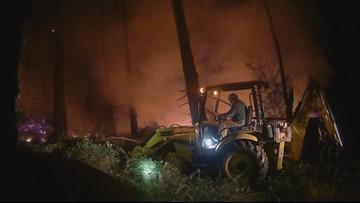 New video shows fiery scene of stolen plane crash on Ketron Island