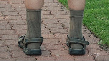 Socks with sandals? - That's a Thing?!