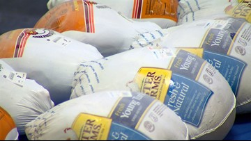 Northwest Harvest has last turkey giveaway at downtown Seattle location