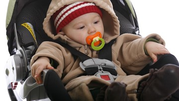 Winter coats can put children in car seats at risk