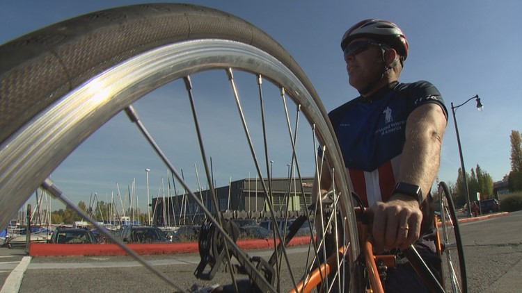U.S. Air Force Veteran and Paralympian's road to recovery was the road itself