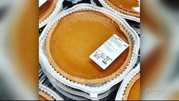 Costco pumpkin pie FAN PAGE - That's a Thing?!