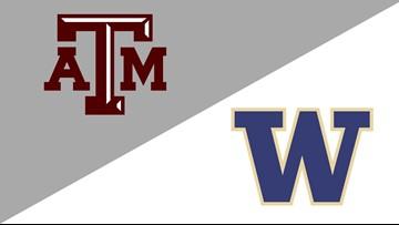 Dickerson rallies Washington past Texas A&M 71-67