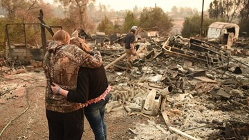 Camp Fire containment grows to 75 percent as death toll rises to 81