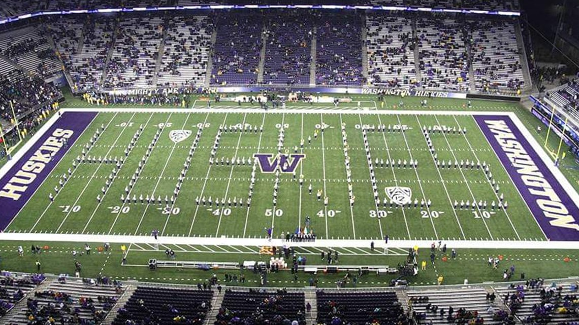 We celebrate Apple Cup with a performance from the UW Husky Marching Band
