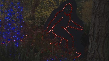 Point Defiance Zoolights to feature Bigfoot this year