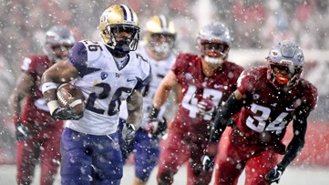 Snow Dawgs: No. 16 Huskies topple No. 7 Cougars 28-15 in Apple Cup