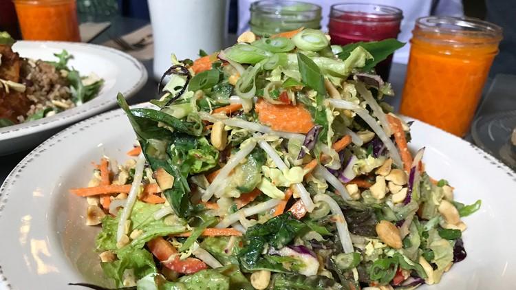 Thai Peanut & Basil Salad