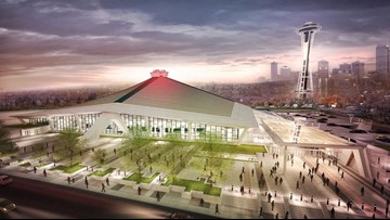 Seattle arena construction underway as investors seek tax relief