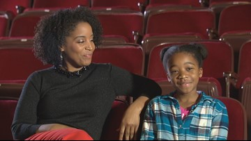 Young orphan in 'Annie' gets advice from TV host mom