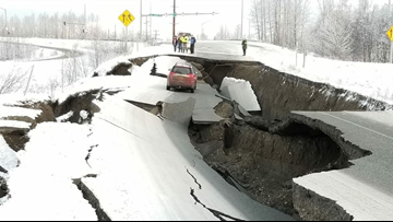 Dozens of aftershocks follow 7.0 earthquake in Anchorage